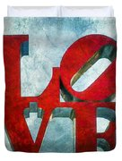 Old Love Duvet Cover