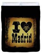Old Madrid Duvet Cover