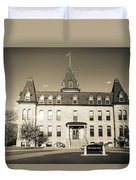 Old Main Sepia Duvet Cover