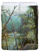 Old Man River Duvet Cover by Ben Kiger
