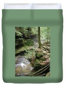 Old Man's Cave  Duvet Cover