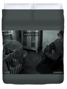 Old Mary Cleavers House Duvet Cover