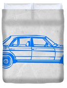 Old Mercedes Benz Duvet Cover by Naxart Studio