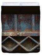 Old Metal Gate Detail Duvet Cover