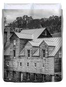 Old Mill Buildings Duvet Cover