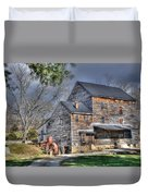 Old Mill Nelson County Virginia Duvet Cover