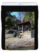 Old Mill Of Guilford Pumphouse Duvet Cover