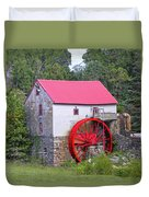 Old Mill Of Guilford Squared Duvet Cover