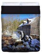 Old Mill On The Tom Tigney River, Nova Scotia Duvet Cover