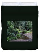 Old Mill Park In Mill Valley Duvet Cover