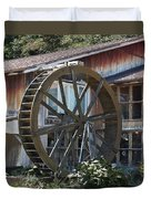 Old Mill Store Entry To Caverns Duvet Cover