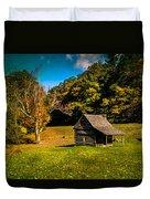 Old Mountain House Duvet Cover