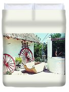 Old Murcia Duvet Cover by Sarah Loft