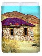 Old Nevada Bordello Duvet Cover