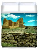 Old New Mexico Duvet Cover