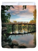 Old North Bridge Duvet Cover by Rick Berk