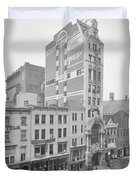 Old Nyc New Amsterdam Theater Photograph - 1905 Duvet Cover