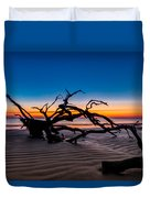 Old Oak New Day Duvet Cover by Debra and Dave Vanderlaan