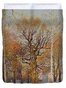 Old Oak-tree In Kolomenskoye Duvet Cover