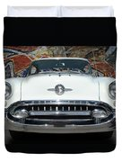 Old Oldsmobile Duvet Cover