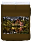 Old Olympia Brewery Duvet Cover