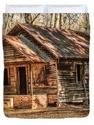 Old One Room School House Duvet Cover