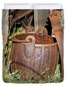 Old Ore Bucket Duvet Cover