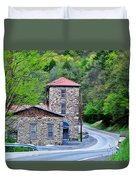 Old Paint Mill Spring Time Duvet Cover