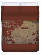Old Painted Brick Duvet Cover