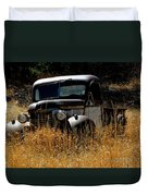 Old Pickup Truck Duvet Cover