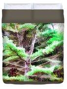 Old Pine Tree Duvet Cover