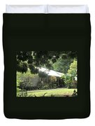 Old Plantation House Duvet Cover