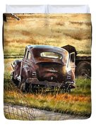 Old Plymouth Duvet Cover