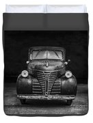 Old Plymouth Truck Square Duvet Cover