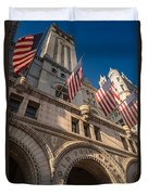 Old Post Office Washington D C Duvet Cover