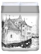Old Prison Of Annecy France Duvet Cover