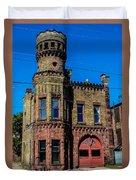 Old Racine Fire Station Duvet Cover