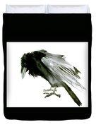 Old Raven Duvet Cover