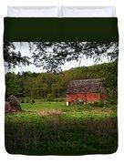 Old Red Barn 2 Duvet Cover