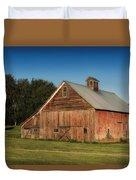 Old Red Barn Palouse Wa Dsc05067 Duvet Cover