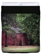 Old Red Barn Duvet Cover