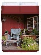 Old Rockin' Chair Duvet Cover