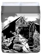 Old Rocky Mill Duvet Cover by Deleas Kilgore