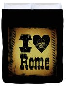 Old Rome Duvet Cover