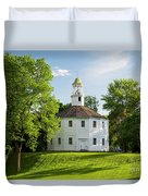 Old Round Church Spring Duvet Cover