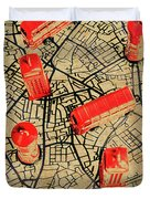 Old Routemaster Way Duvet Cover