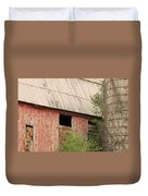 Old Rugged Barn #4 Duvet Cover
