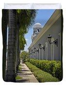 Old San Juan Puerto Rico Duvet Cover