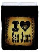 Old San Juan Duvet Cover