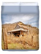 Old Shack Duvet Cover